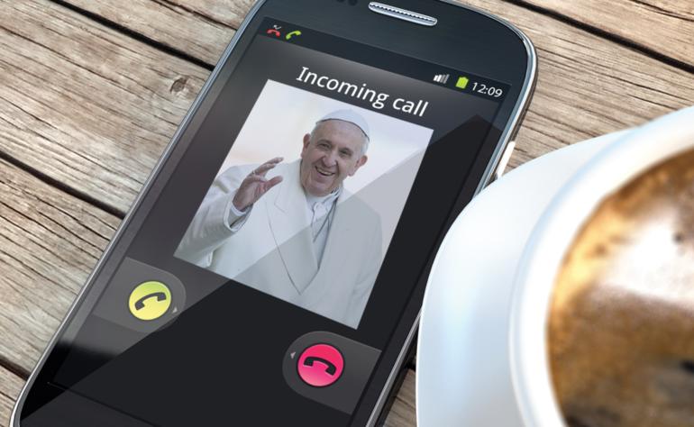 volá papež